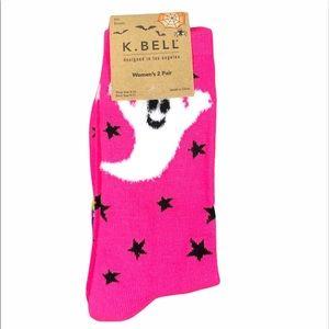 🎉 HP 🎉🆕 K. Bell  Halloween socks 2 pack